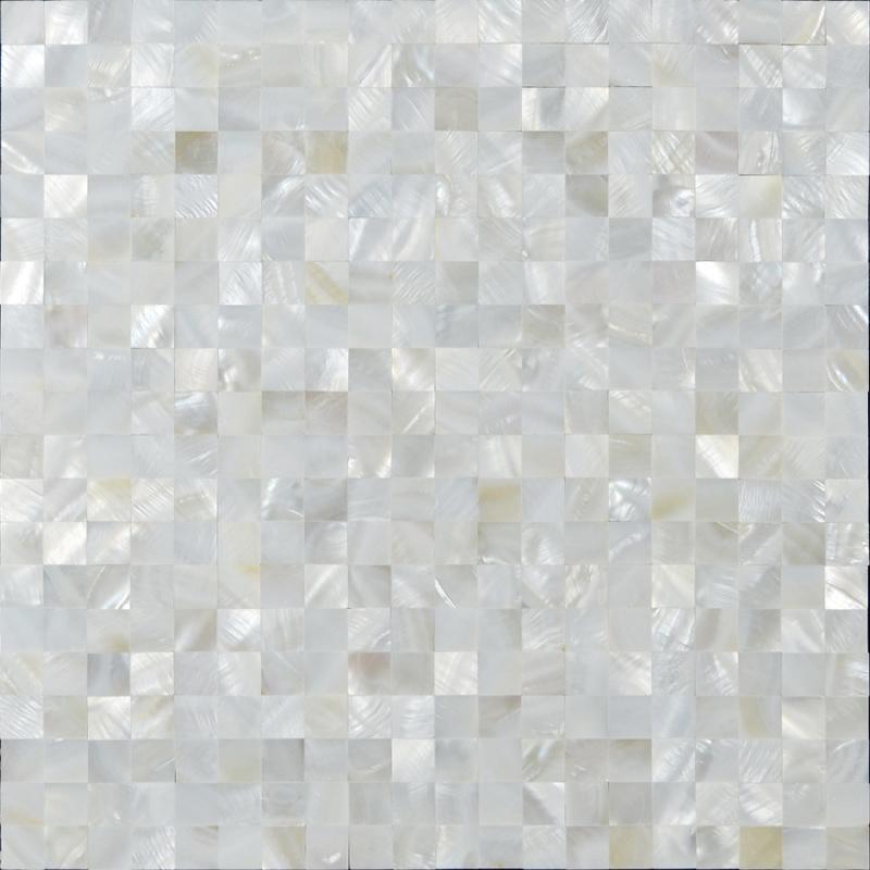 white pearl mosaic tiles ST076-2