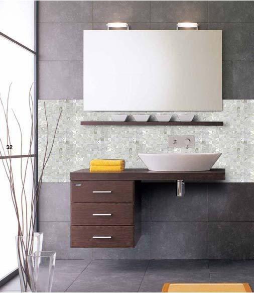 Shell Mosaic Bathroom Backsplash Wall Tiles ST062 S1