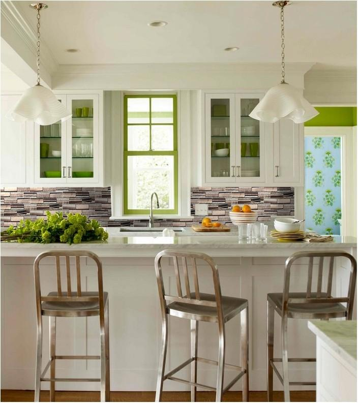 Kitchen Backsplash Glass Subway Tile Zz006 S1