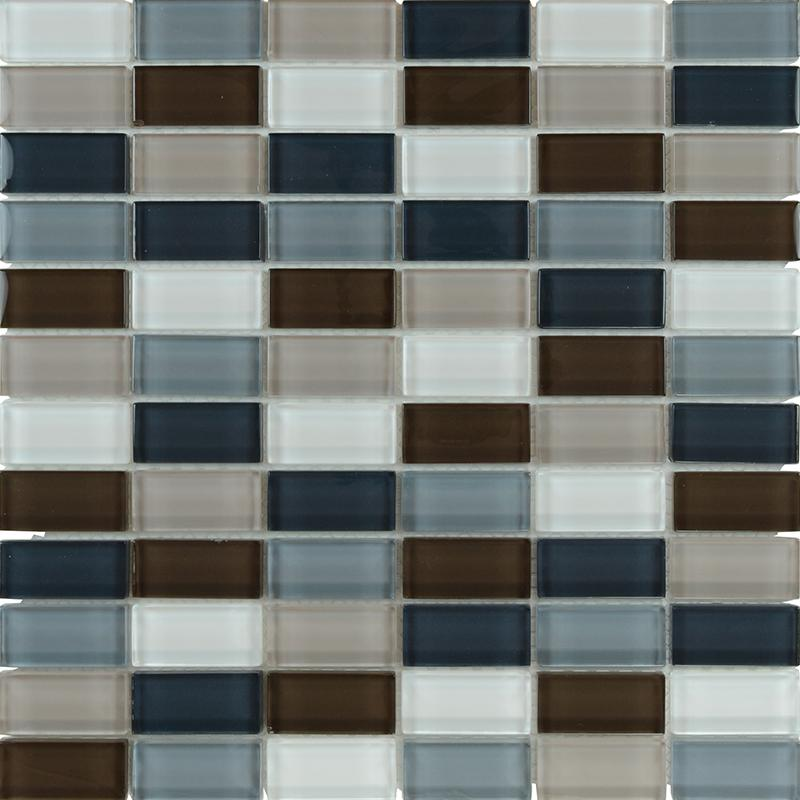 bathroom glass tile floor designs zz0132