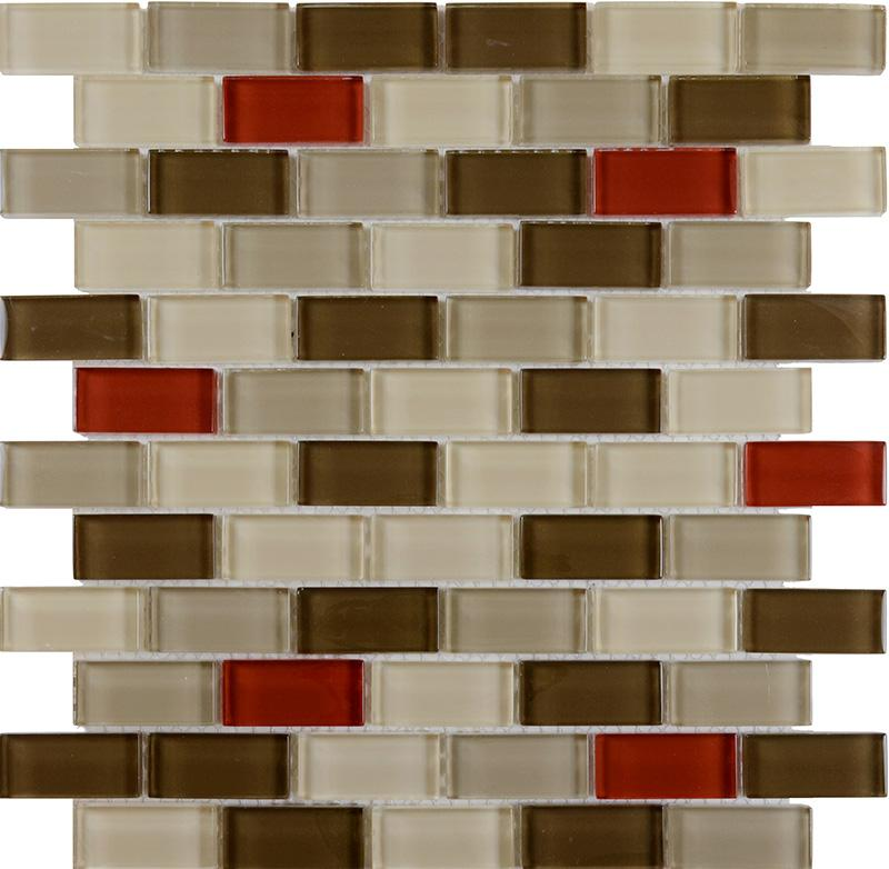 Mosaic Glass Subway Tile ZZ014 2