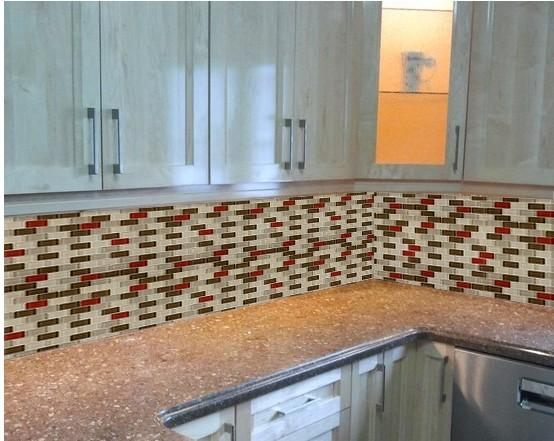 glass mosaic subway tile kitchen backsplash wall tiles zz014