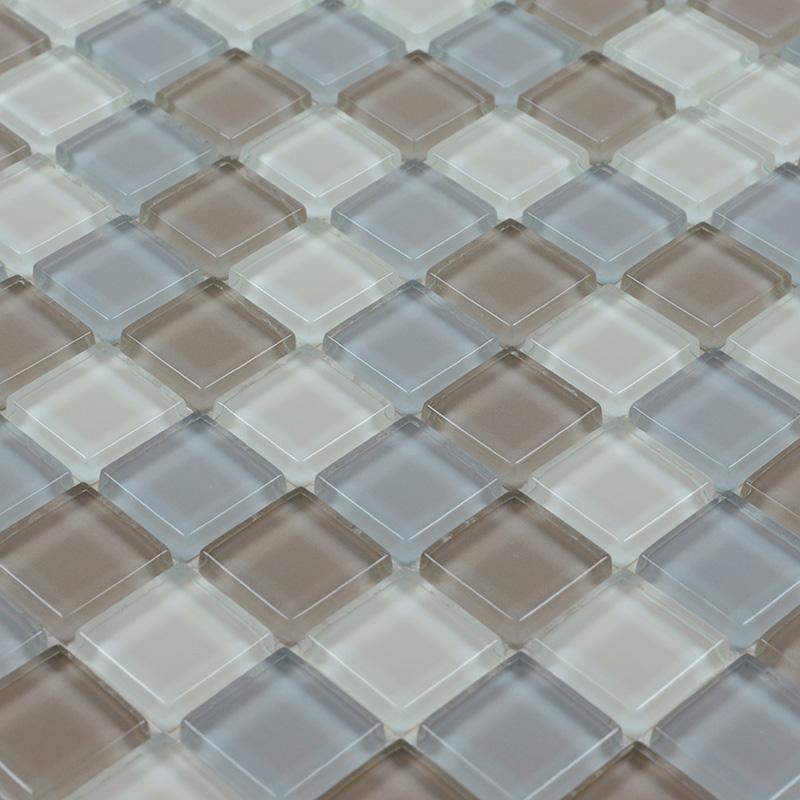 crystal glass mosaic tile backsplash bathroom mirror wall tiles ZZ017