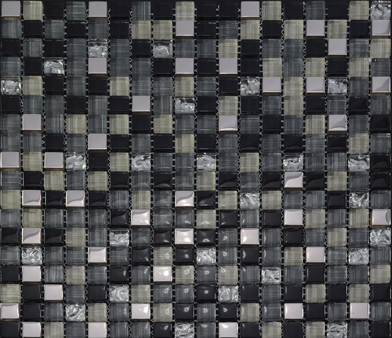 Kitchen Tiles Design Malaysia glass mosaic tile backsplash kitchen metal coating tile designs zz019