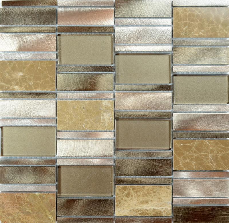 Marble Floor Tile Stainless Steel Tiles MG010 2
