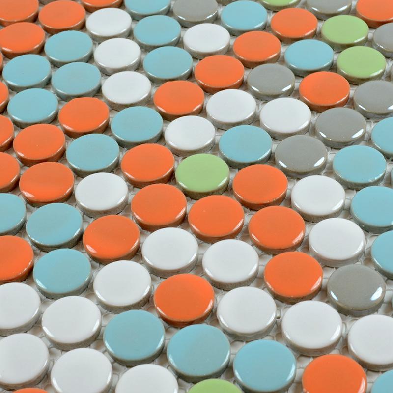 Penny ceramic tile