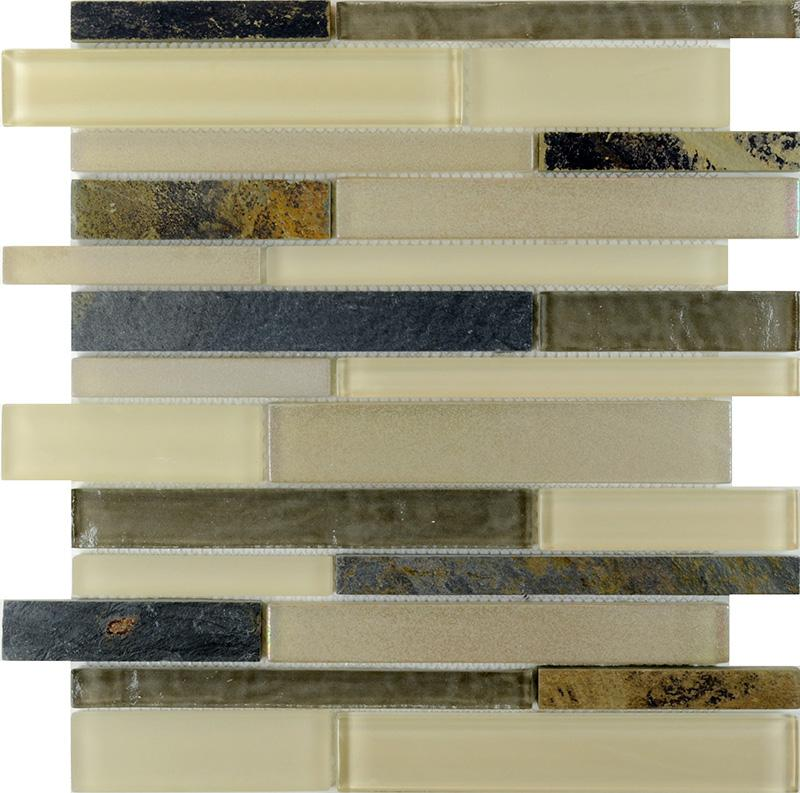Interlocking Glass Stone Tile Sg116 2