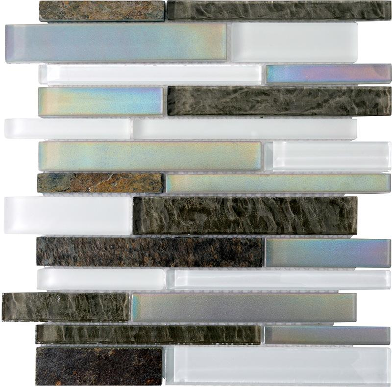 Interlocking Tile Stone Glass Tile SG118 2