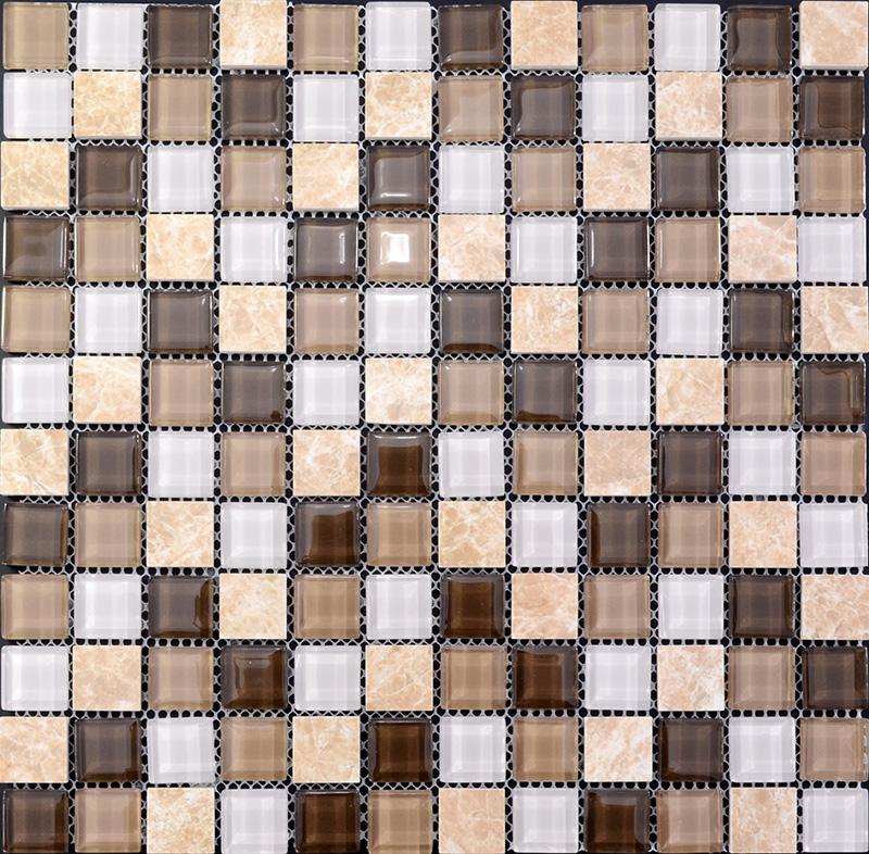 glass stone mosaic tile bathroom tiles sg1292