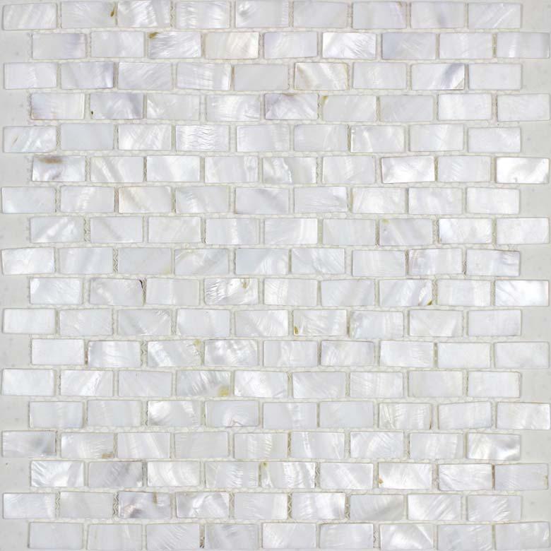 Mother Of Pearl Mosaic Tiles Subway Pearl Shell Tile Backsplash Bk03