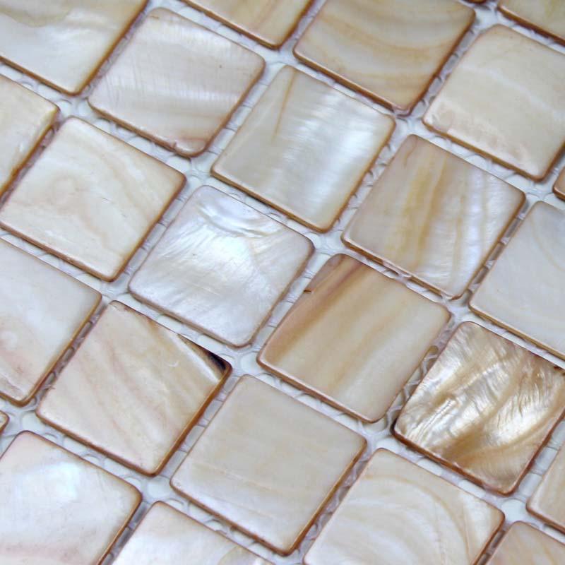 mother of pearl tile backsplash wall stickers BK014-1