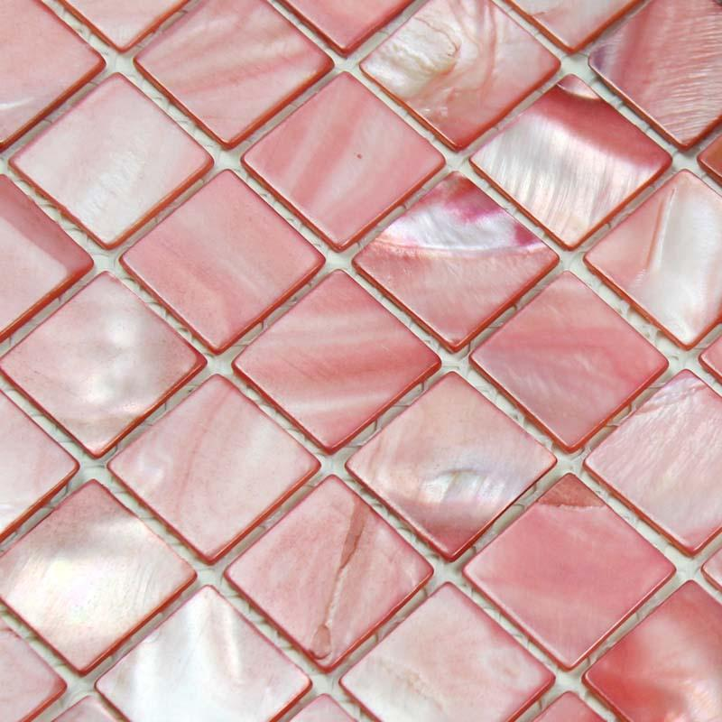 shell tile backsplash mother of pearl mosaic BK015-1