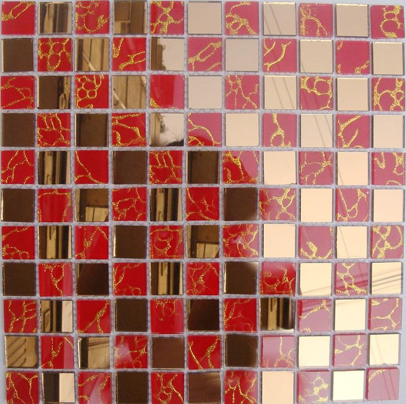 Crystal Glass Tile Mirror Mosaic Designs Mosa13 2