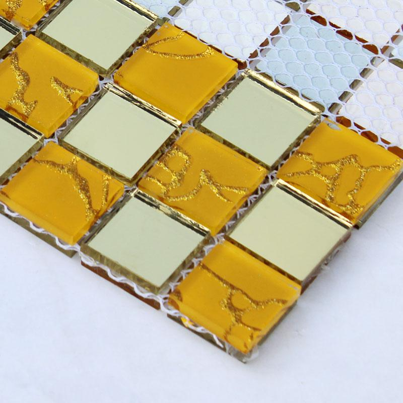 crystal glass mosaic mirrored designs MOSA22-3