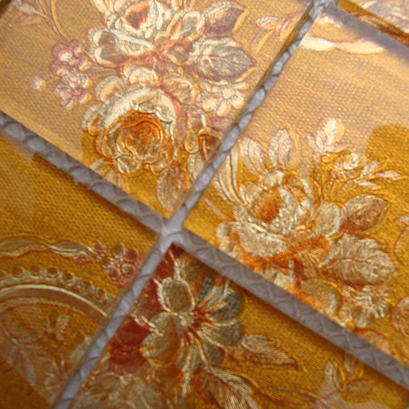 glass tile brick puzzle mosaic tiles LH908-3
