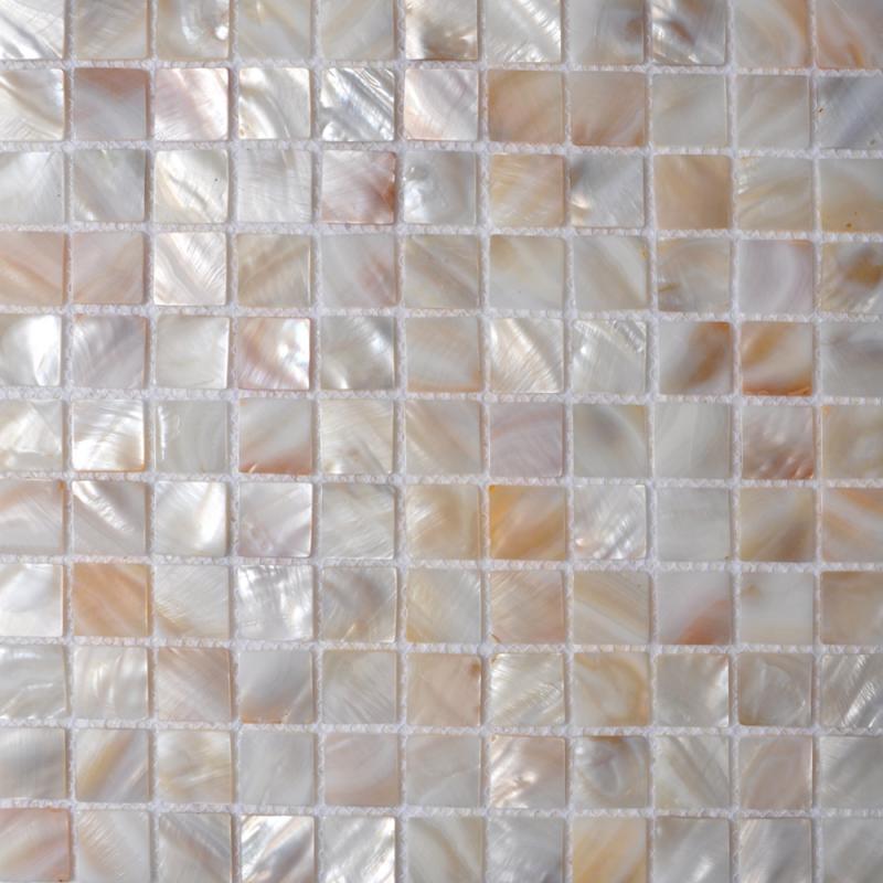 shell mosaic tile backsplash SN00251-2