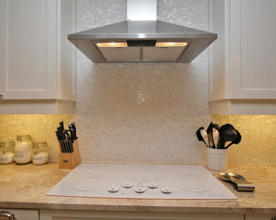 mother of pearl tile kitchen backsplash SN00251-S1