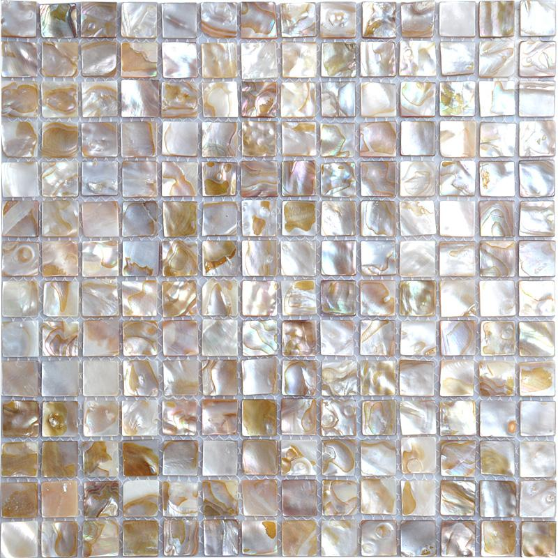 mother of pearl tile shower wall sticker bath mirror ...