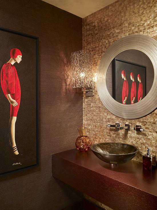 Seashell Mosaic Bathroom Mirror Wall Tiles WB 002 S2
