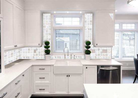 Mother Of Pearl Kitchen Backsplash Tiles WB 001 S4