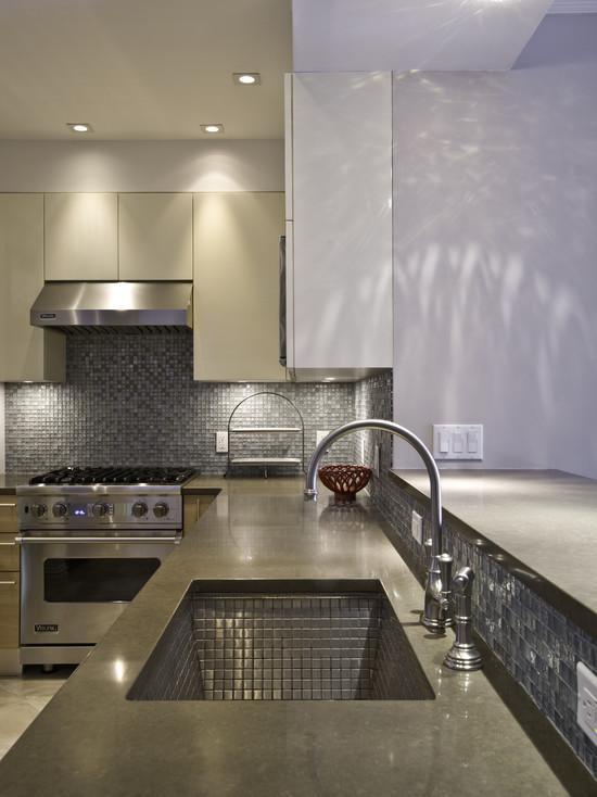metal kitchen backsplash tile sheets 9101-S2