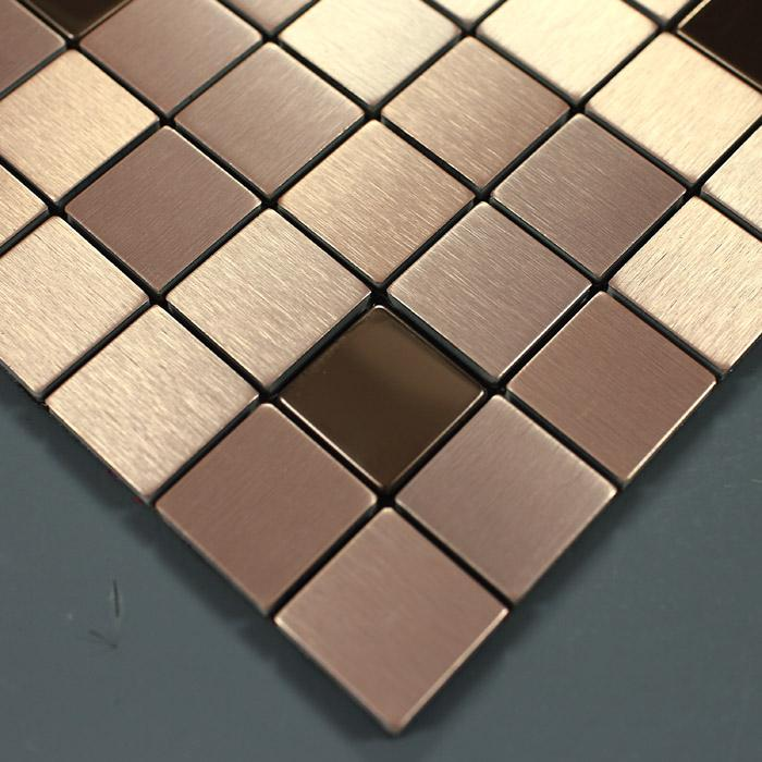 metal kitchen tiles 9103 3 - Decorative Metal Sheets