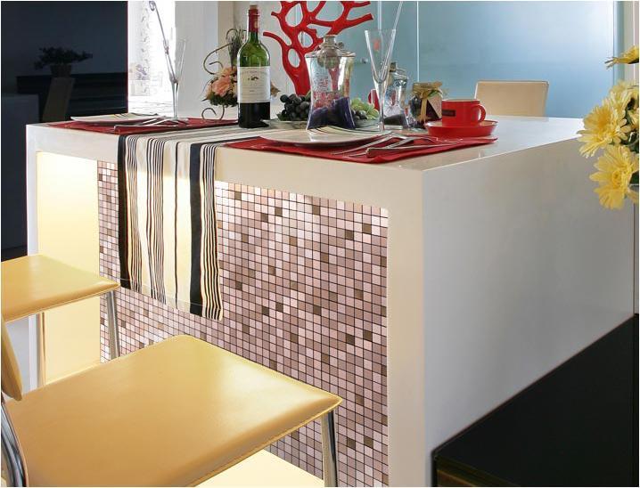 metal tile backsplash wall tiles 9103-S1
