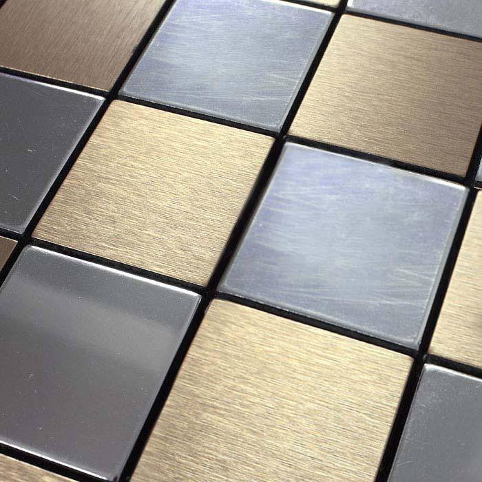 decorative metal wall tile 9105-1
