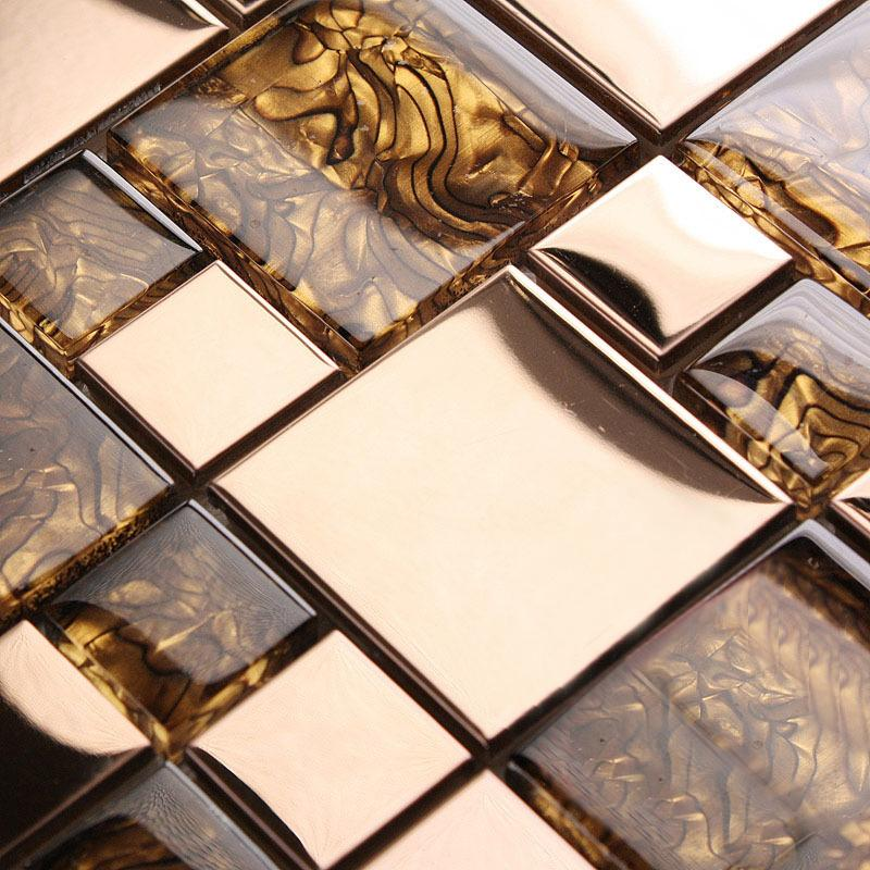 glass tile backsplash metal tiles 1941-1