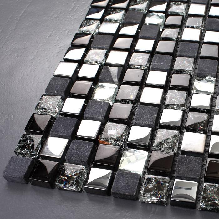 glass and stone backsplashes KS66B-3