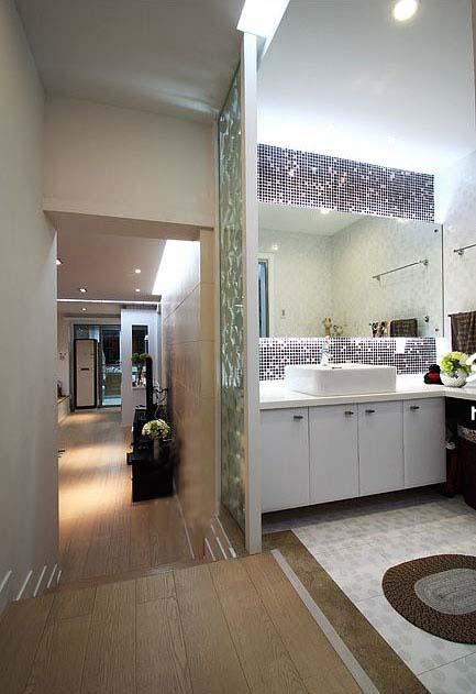 stone mosaic tile bathroom mirror wall tiles KS66B-S6