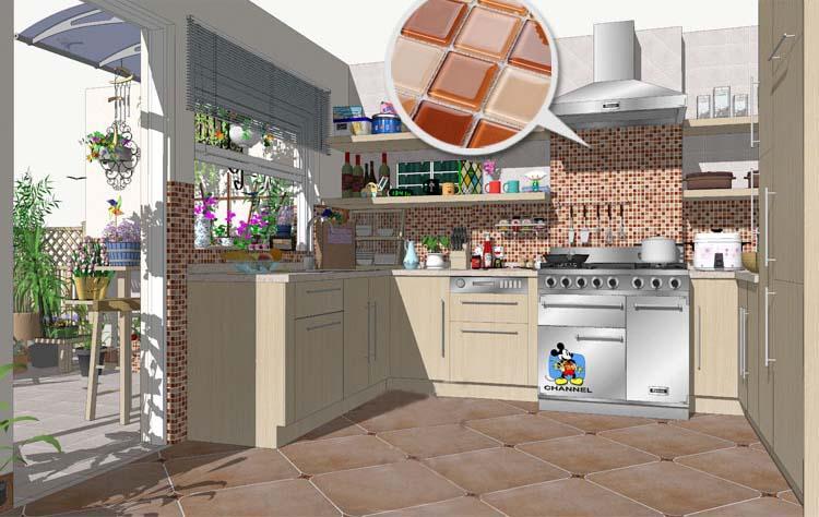 kitchen backsplash glass tile HP91-S1