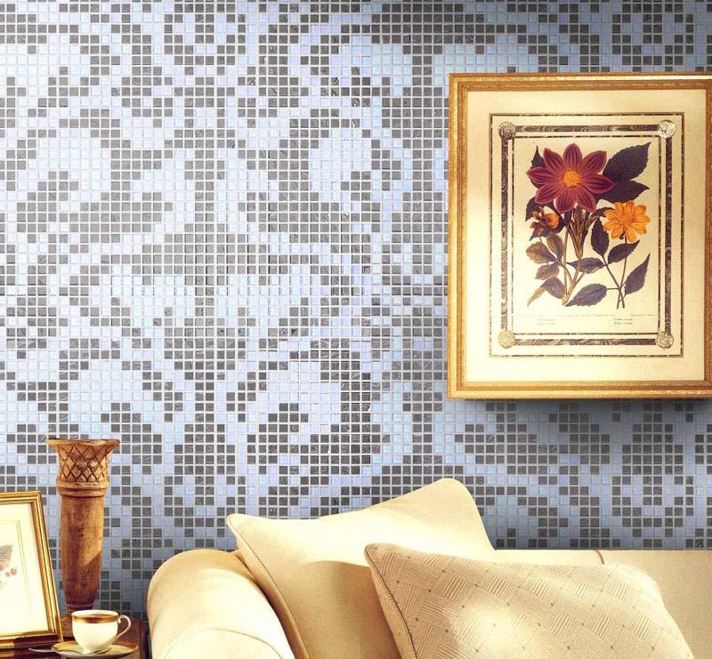 crystal glass tile patterns wall stickers 2131-S3