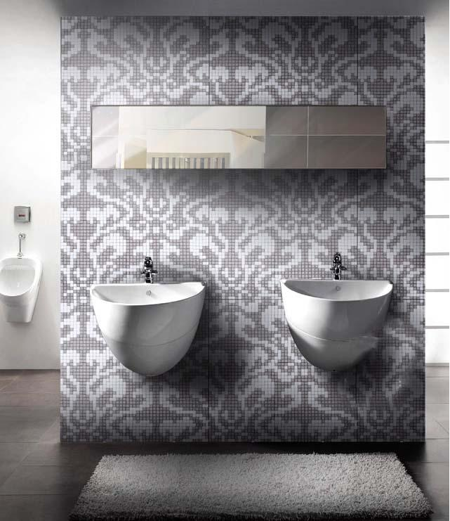 glass mosaic tile bathroom wall stickers 2131-S5