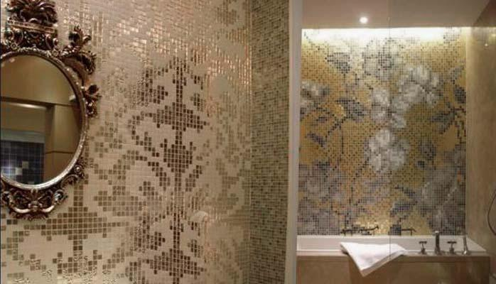 Crystal Glass Tile Bathroom Mirror Wall Tiles 2131 S7