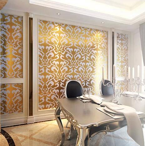 Crystal Mosaic Tile Patterns 48x48mm Gold Glass Tile Backsplash 48b Interesting Images Of Glass Tile Backsplash Interior