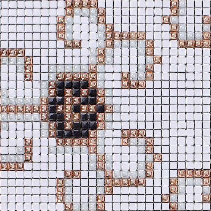 Mosaic Tile Patterns For Floors Glass Mosaic Floor Tiles