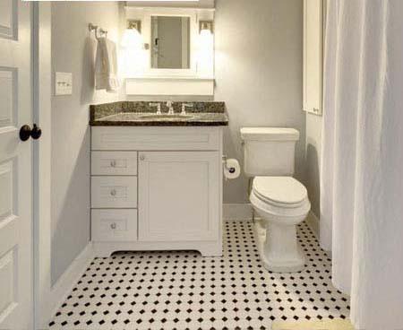 bathroom floor stickers HB-680-scene2