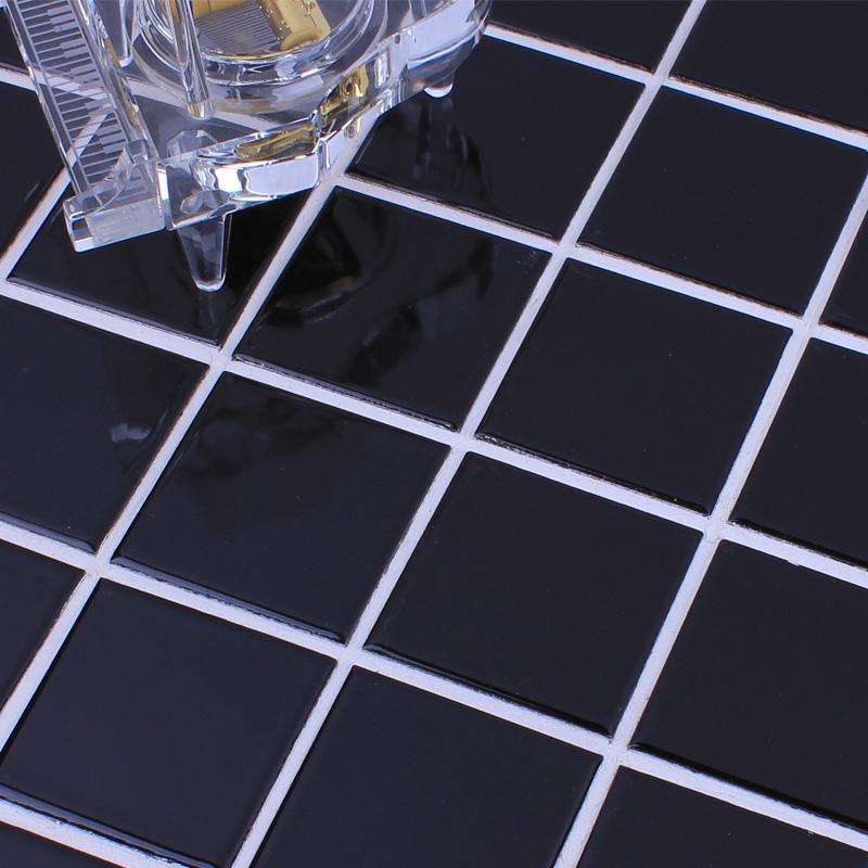 black mosaice tile HB-660-1