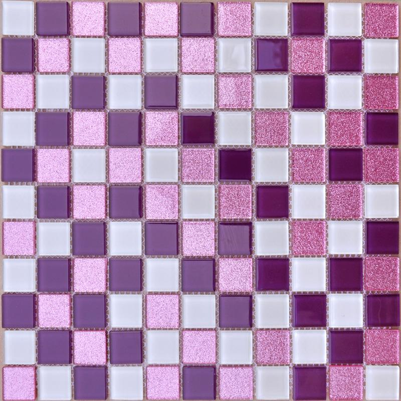 Glass Mosaic Tiles Kitchen Backsplash Bathroom Wall Stickers