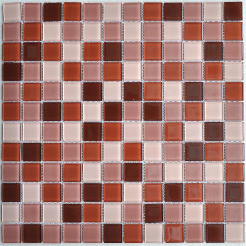 Glass Mosaic Tiles Kitchen Backsplash Tile Bathroom Wall Sticker 10064