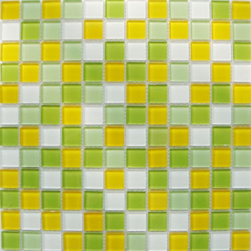 Glass Mosaic Tiles Kitchen Backsplash Tile Bathroom Wall Sticker 10020