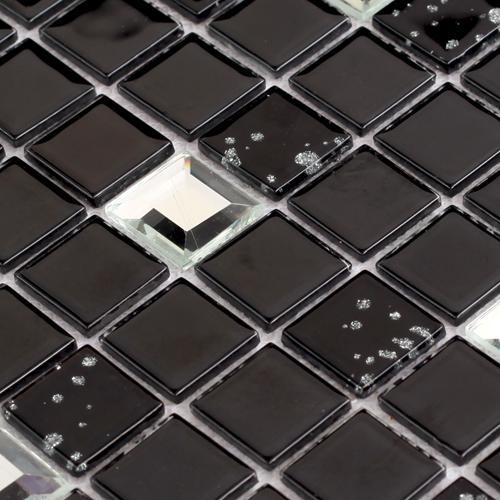 Silver Diamond Glass Tiles 10044 1