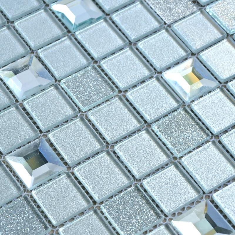 diamond glass mosaic tiles 10100-1