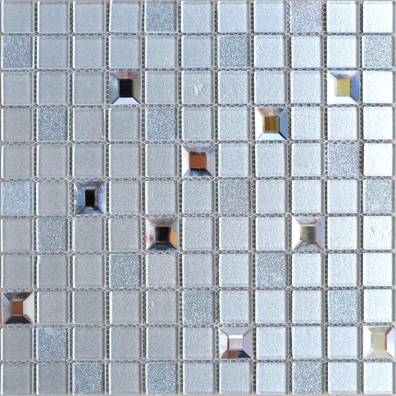 glass mosaic tiles kitchen backsplash tile bathroom wall sticker 10100