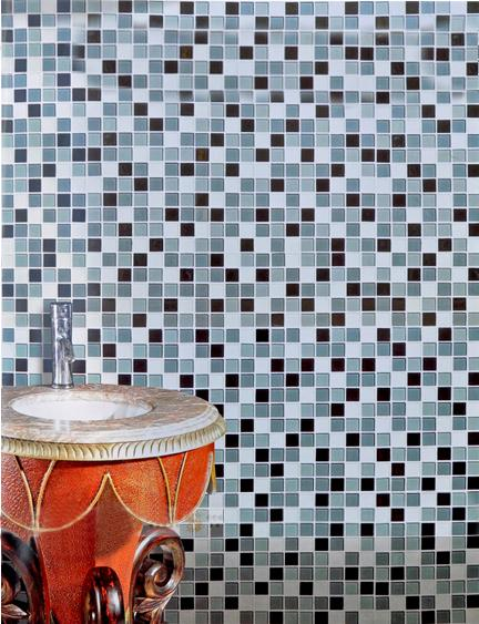 crystal glass mosaic tiles HBH01-S1