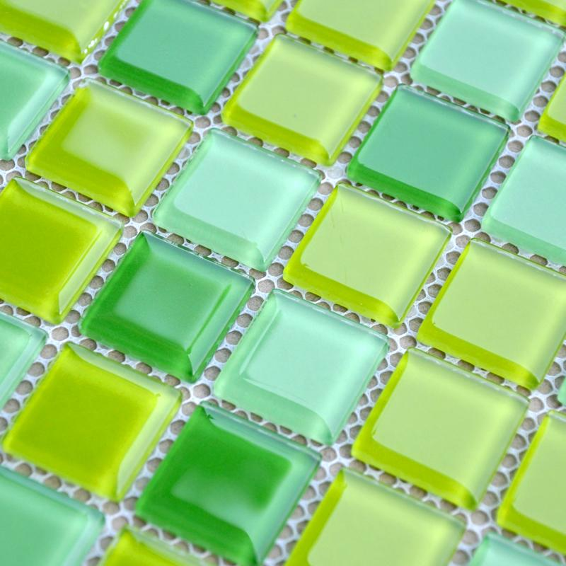 details of the crystal glass mosaic tiles JKX03-1