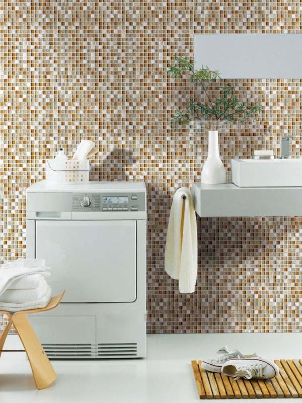 crystal mosaic tile for bathroom wall stickers stbl305s2
