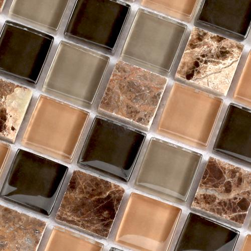 Stone glass mosaic tile sheets kitchen backsplash tiles marble SAS2306