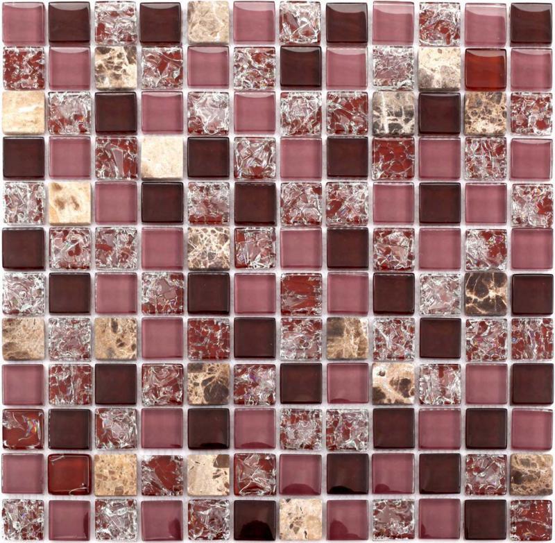 crystal glass tile backsplash crackle glass stone mosaic floor 10010